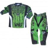 motocross στολη Wulf Aztec green