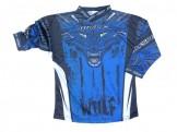 μπλουζα motocross WulfSport Aztec blue