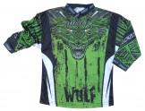 μπλουζα motocross WulfSport Aztec green