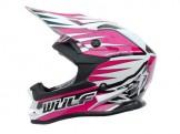 Κράνος Wulf pink
